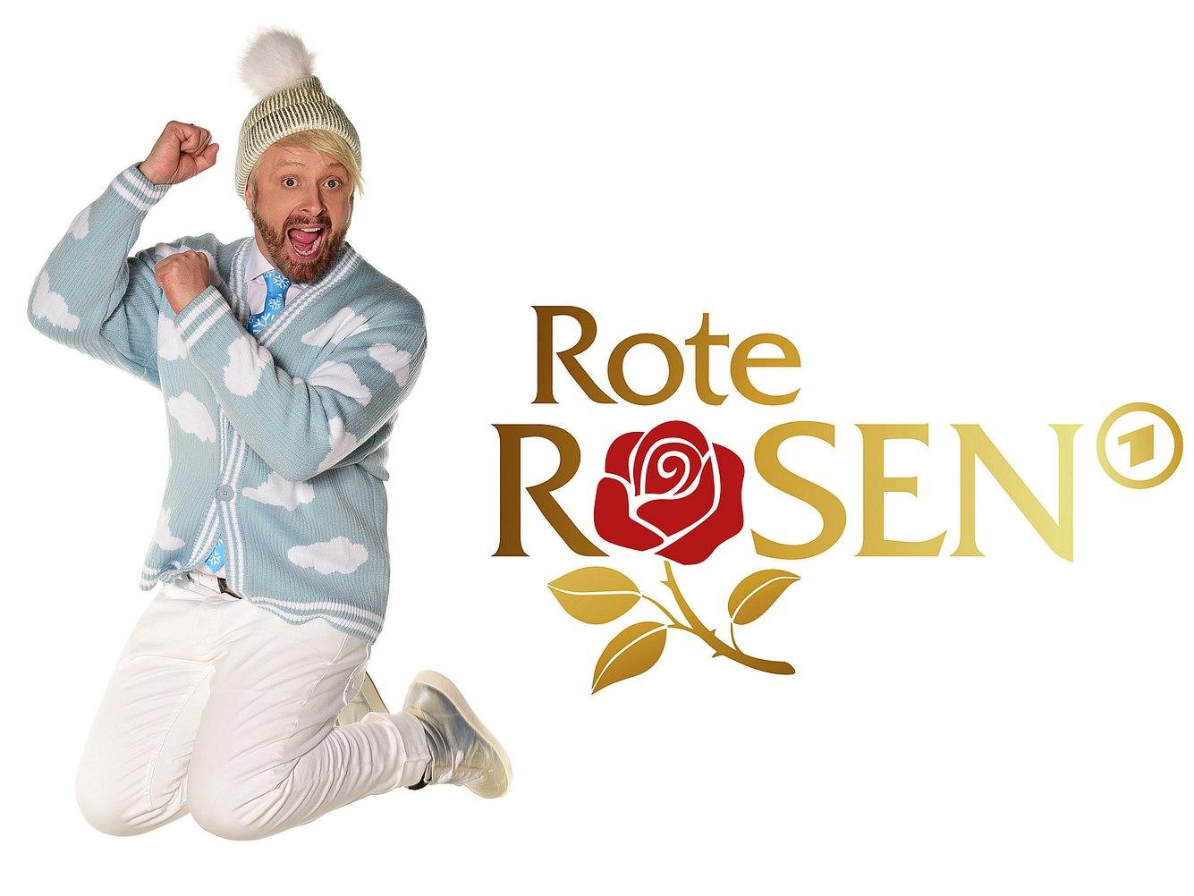 Ross Antony als Gaststar bei 'Rote Rosen'.