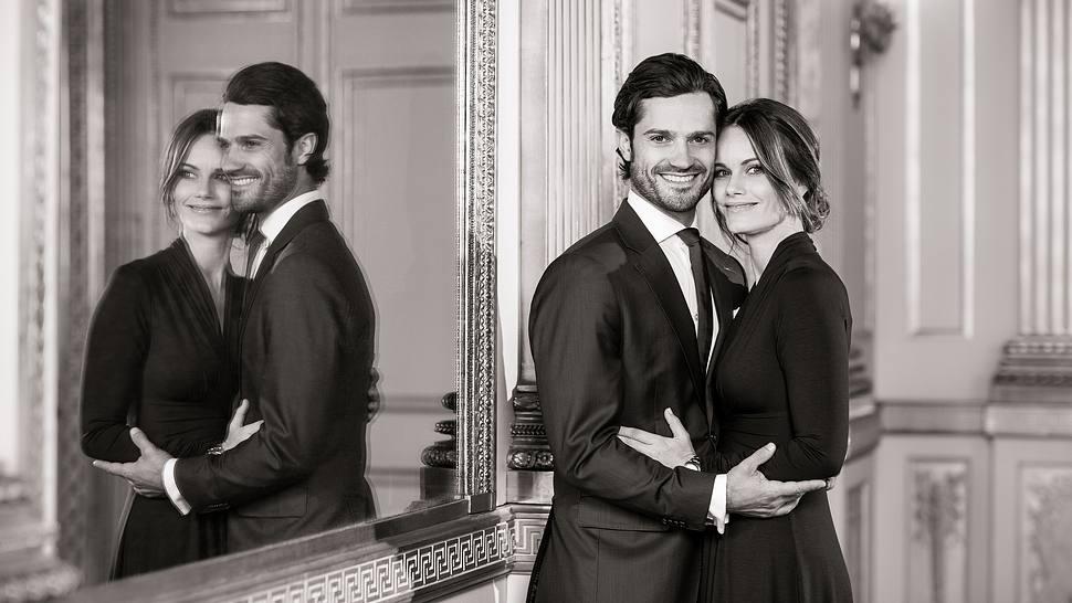 Prinzessin Sofia und Prinz Carl Philip verkünden die dritte Schwangerschaft. - Foto:  Linda Broström Kungl. Hovstaterna / Linda Broström, The Royal Court of Sweden