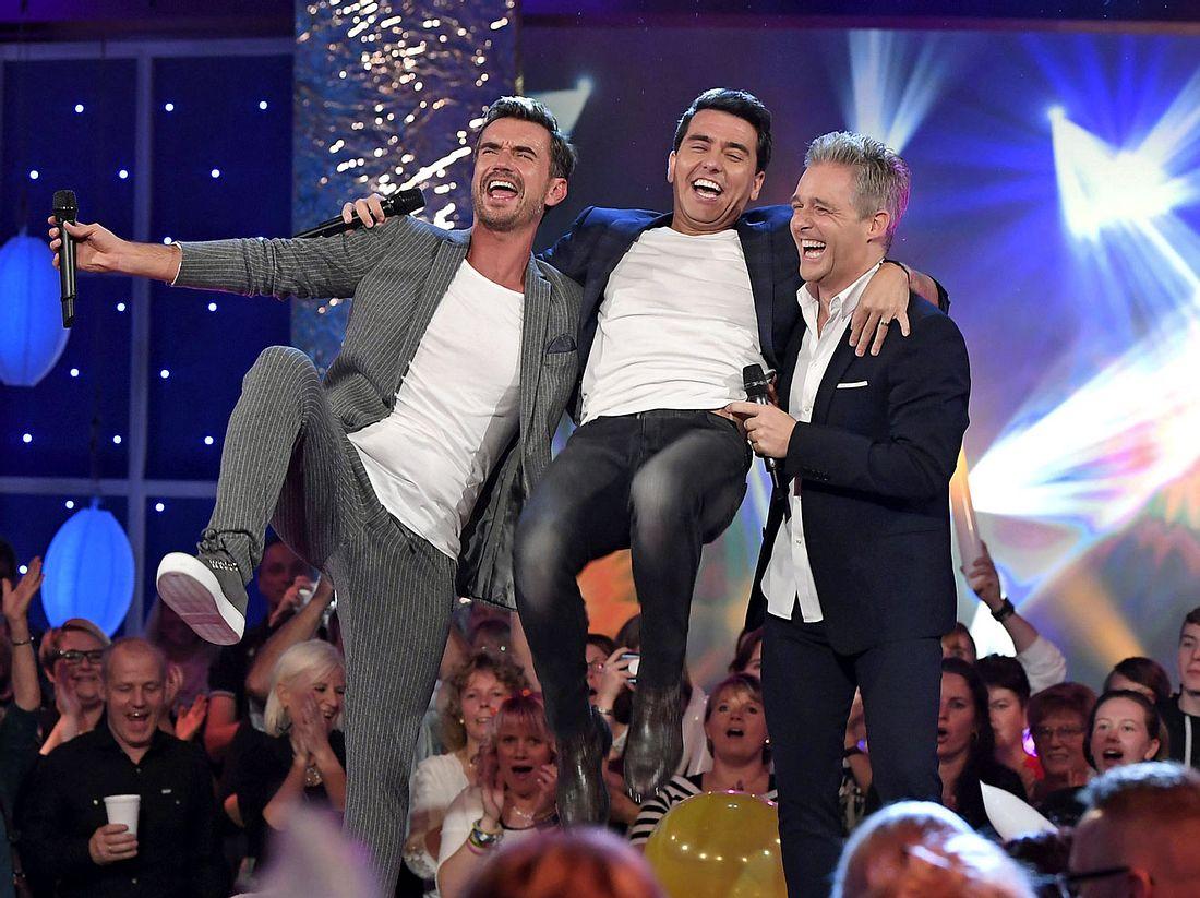 Bei 25 Jahre Feste-Shows - Das große Wiedersehen begrüßt Florian Silbereisen hochkarätige Gäste.