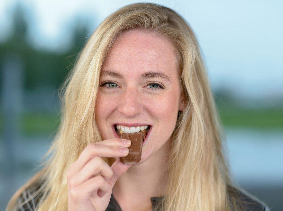 Abnehmen geht auch mit Schokolade.