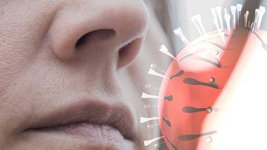 Inhalieren von Viren durch Luftübertragung. - Foto: aerogondo / iStock