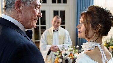 Melli und Andre heiraten - Foto: ARD / Christof Arnold