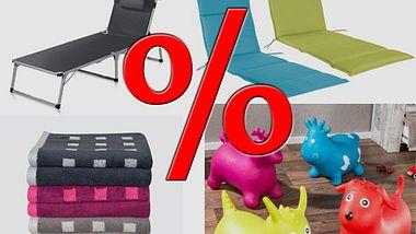 Angebote zum Wochenstart:Handtücher, Gartenmöbel und mehr - Foto: ALDI NORD / Lidl