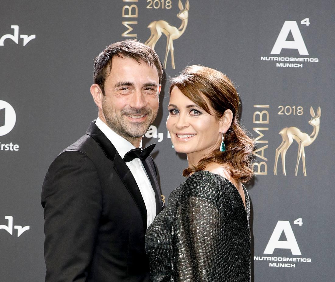 Anja Kling und Oliver Haas sind seit eineinhalb Jahren glücklich verheiratet.