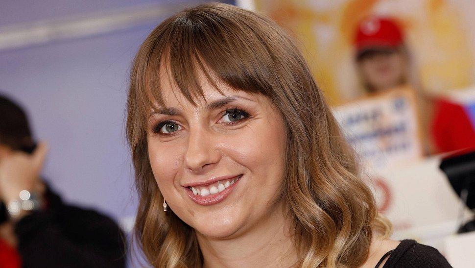 Anna Heiser 2018 beim RTL-Spendenmarathon.  - Foto: IMAGO / Future Image