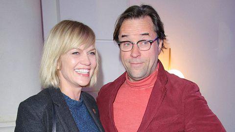 Anna Loos und Jan Josef Liefers. - Foto: imago images / Tinkeres