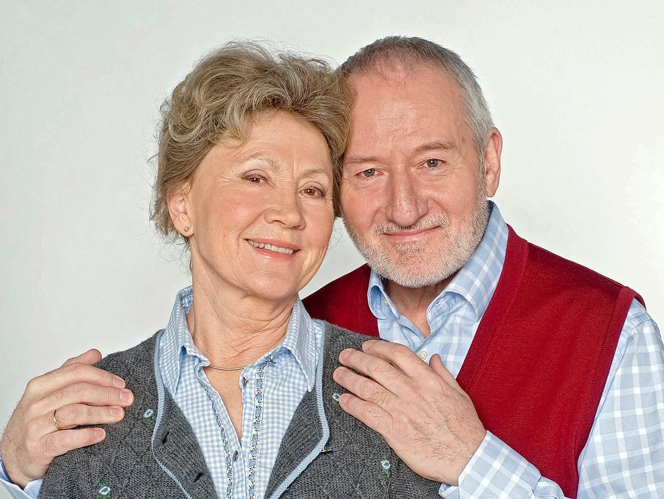 Bei 'Sturm der Liebe' sind Antje Hagen und Sepp Schauer als Hildegard und Alfons Sonnbichler zu sehen.