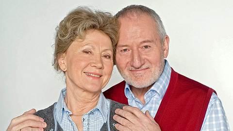 Bei Sturm der Liebe sind Antje Hagen und Sepp Schauer als Hildegard und Alfons Sonnbichler zu sehen.