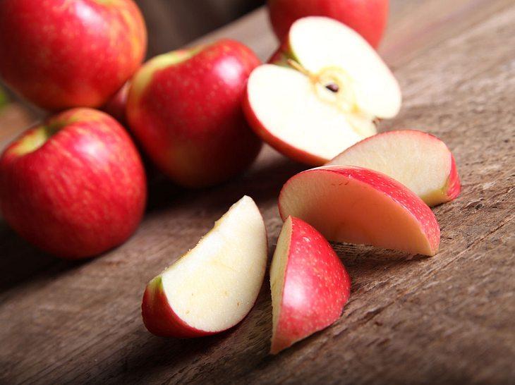 Mit dem Apfel-Trick purzeln die Pfunde