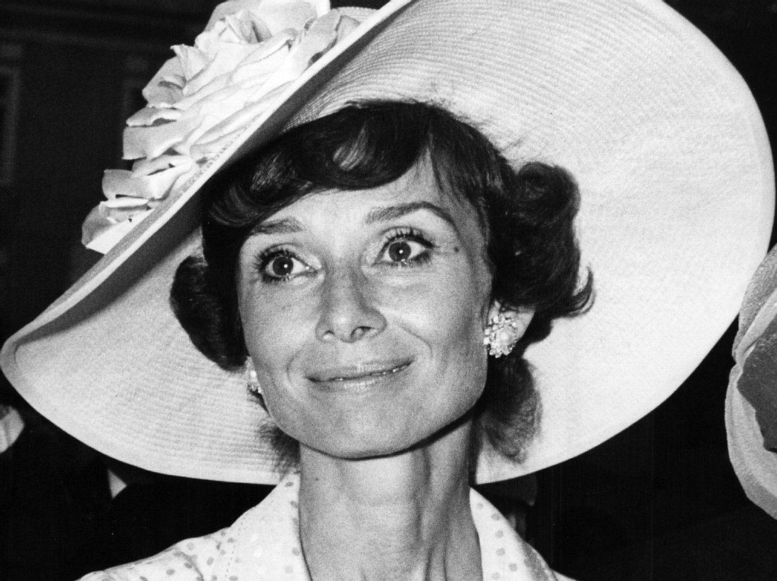 Audrey Hepburn im Jahr 1973.