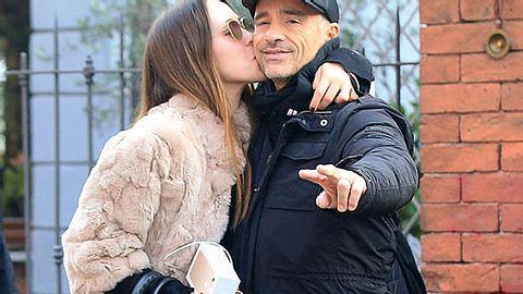 Eros Ramazzotti und seine Tochter Aurora am 5. Dezember 2016 in Mailand, Italien. - Foto: Robino Salvatore/GC Images / GettyImages