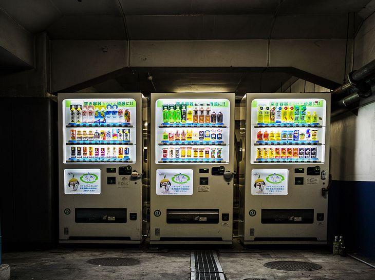 Die Automaten von Action Hunger sind für Bedürftige gedacht