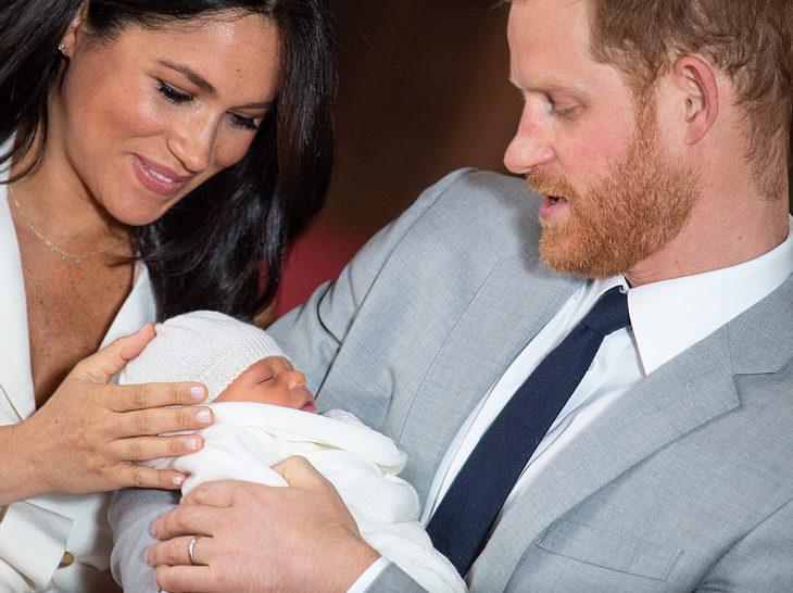 Meghan, Harry und Baby Sussex: ihr Sohn Archie