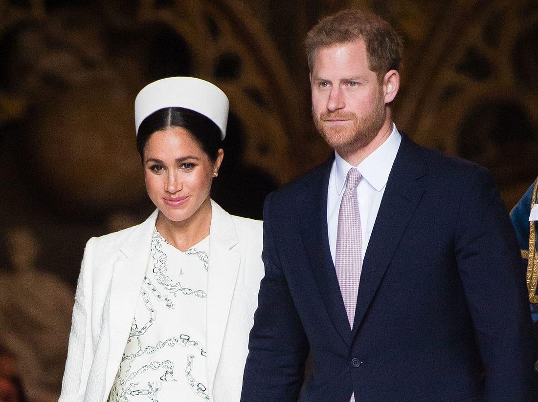 Meghan Markle und Prinz Harry erwarten ihr erstes Baby.