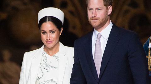 Meghan Markle und Prinz Harry erwarten ihr erstes Baby. - Foto: Samir Hussein / Samir Hussein/WireImage