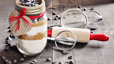 Zutaten-Mix für Schokokuchen