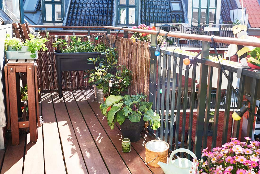Balkon gestalten Einfache Tipps und kreative Ideen   Liebenswert ...