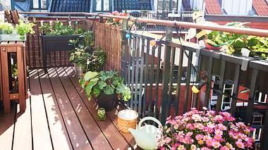 Schön gestalteter Balkon. - Foto: Sohl / iStock