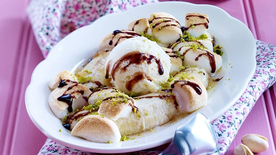 Heißer Bananensplit.  - Foto: House of Food.