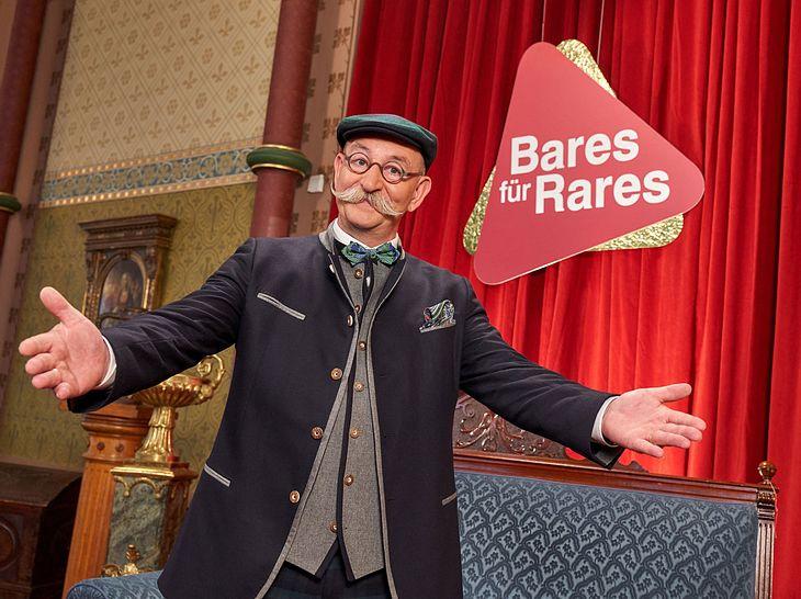 Bares für Rares wird seit Sendebeginn von Horst Lichter moderiert.