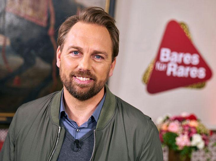 Moderator Steven Gätjen unterstützt Horst Lichter in den zwei Abendshows von 'Bares für Rares'.