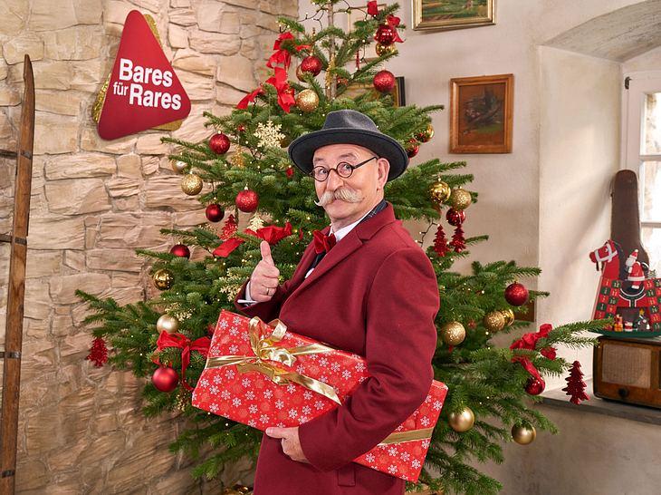 Das ZDF zeigt bald eine Weihnachtsausgabe von Bares für Rares mit Horst Lichter.