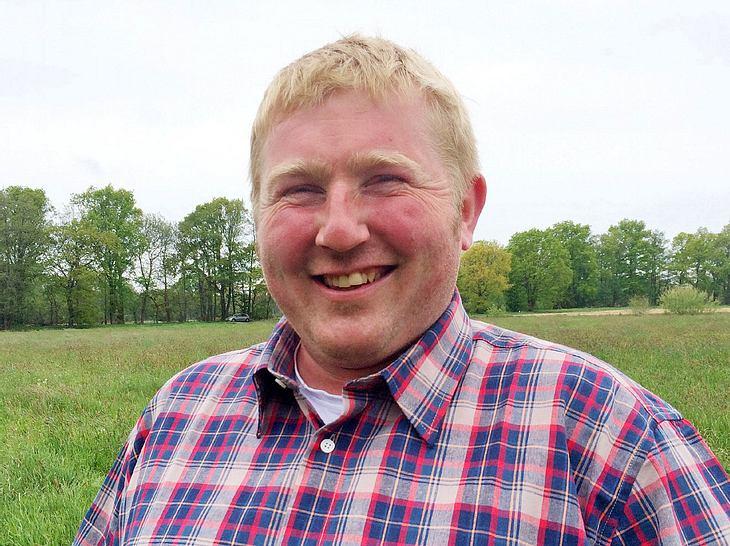 Auch Christian (33) aus Niedersachsen will sich bei Bauer sucht Frau verlieben.
