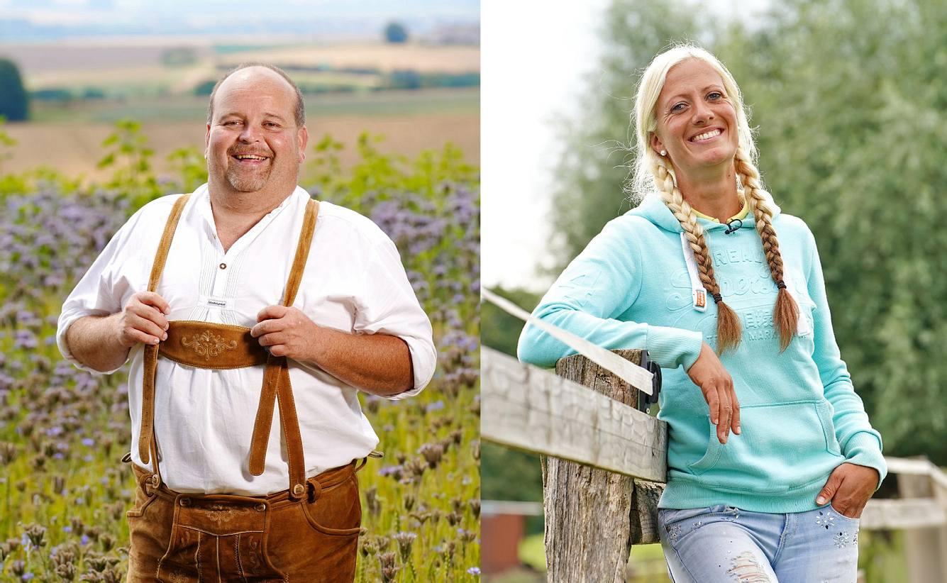 Thomas K. und Denise sind 2020 als Kandidaten bei 'Bauer sucht Frau' dabei.