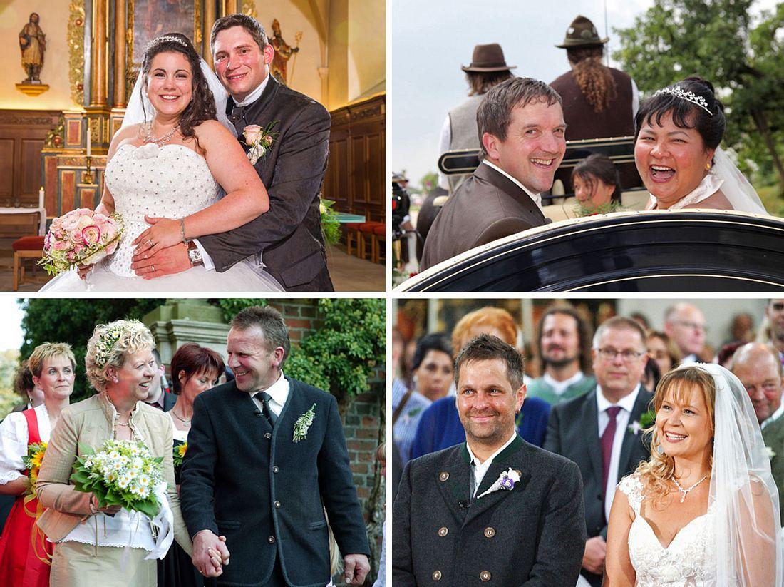 Victoria und Guy, Josef und Narumol, Karin und Herbert sowie Stephan und Steffi von Bauer sucht Frau.
