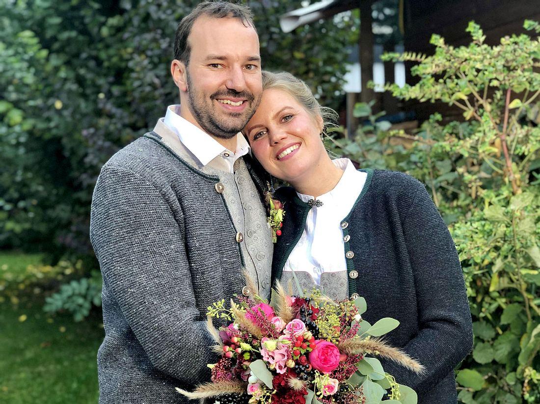 Christian und Barbara feierten die 31. Bauer sucht Frau-Hochzeit.