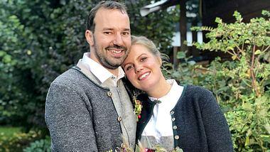 Christian und Barbara feierten die 31. Bauer sucht Frau-Hochzeit. - Foto: TVNOW