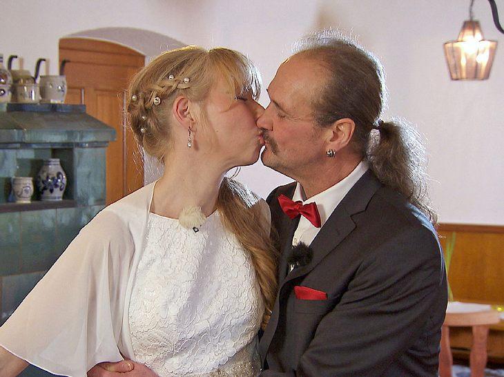 Gottfried und Martina lernten sich bei Bauer sucht Frau kennen.