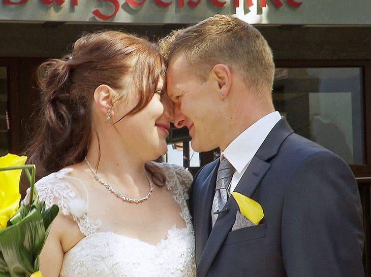 Auch die Bauer-sucht-Frau-Teilnehmer Jörg und Vanessa heirateten 2018.
