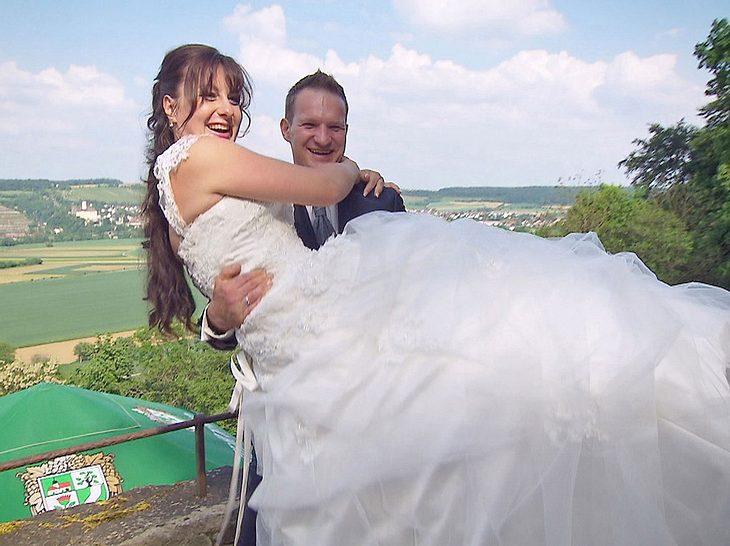 Jörg und Vanessa von Bauer sucht Frau heirateten 2018.