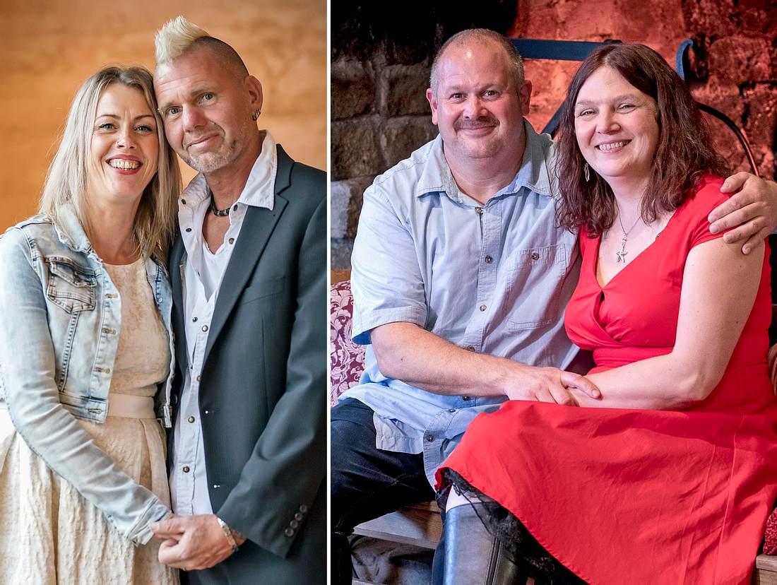 Wie steht es um Bianca und Thomas sowie Burkhard und Tanja von 'Bauer sucht Frau'?