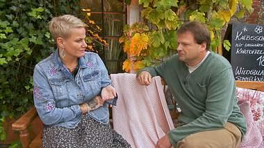 Nicole ist bei Bauer sucht Frau schwer von Andy enttäuscht. - Foto: TVNOW