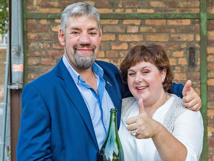 Das 'Bauer sucht Frau'-Paar Iris und Uwe Abel geht gemeinsam durch dick und dünn.