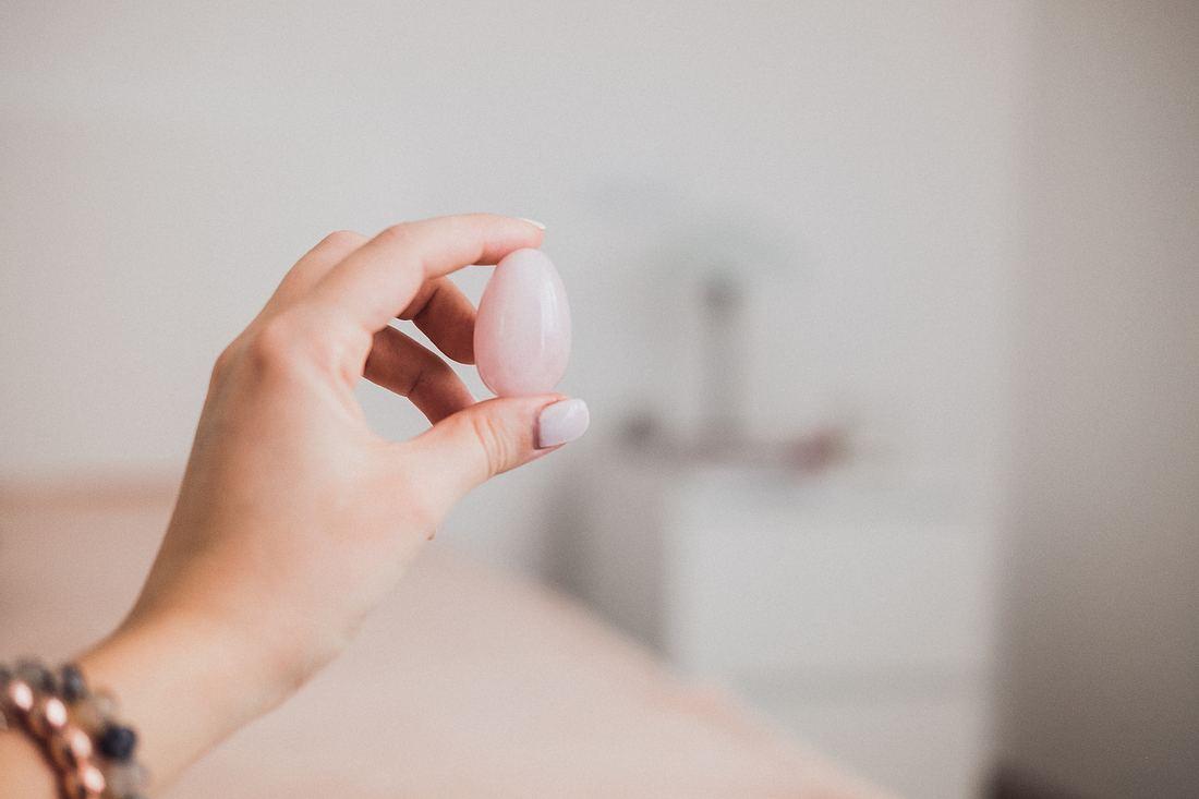 Yoni-Ei für Beckenboden-Training