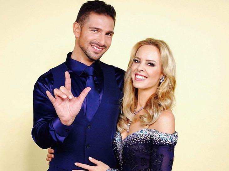 Benjamin Piwko und Isabell Edvardson bei 'Let's Dance'.