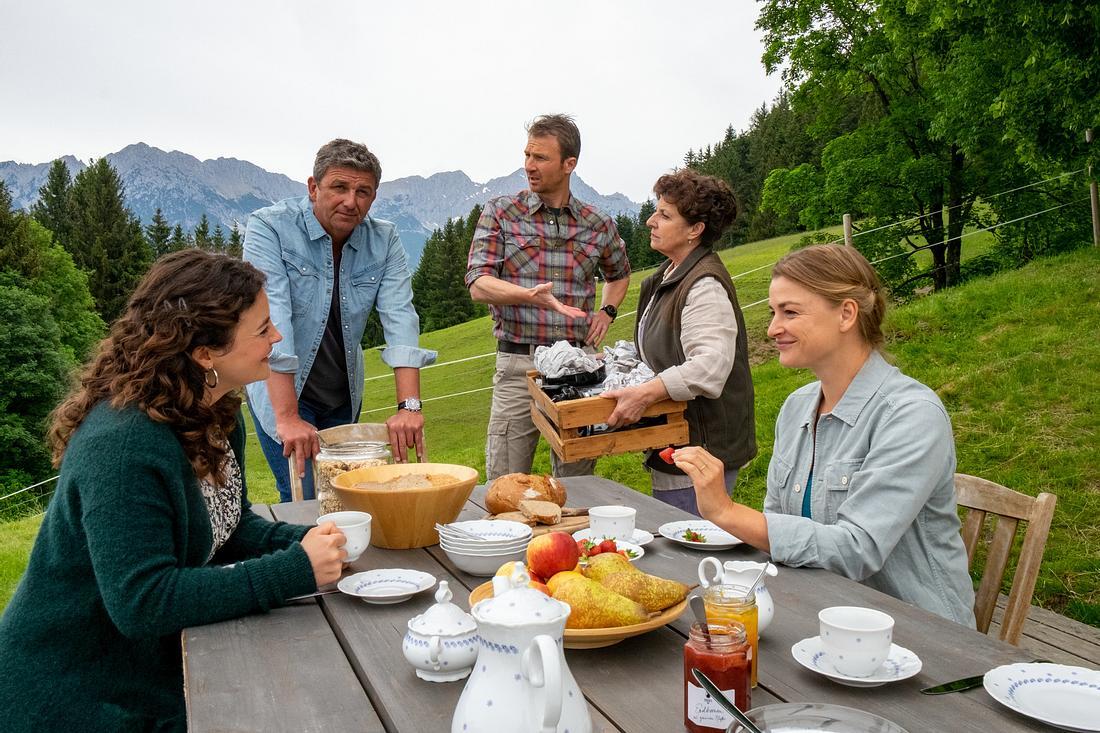 'Der Bergdoktor': Familie Gruber
