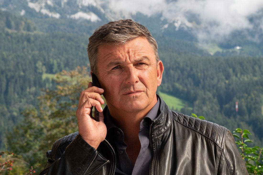 'Der Bergdoktor' Hans Sigl.