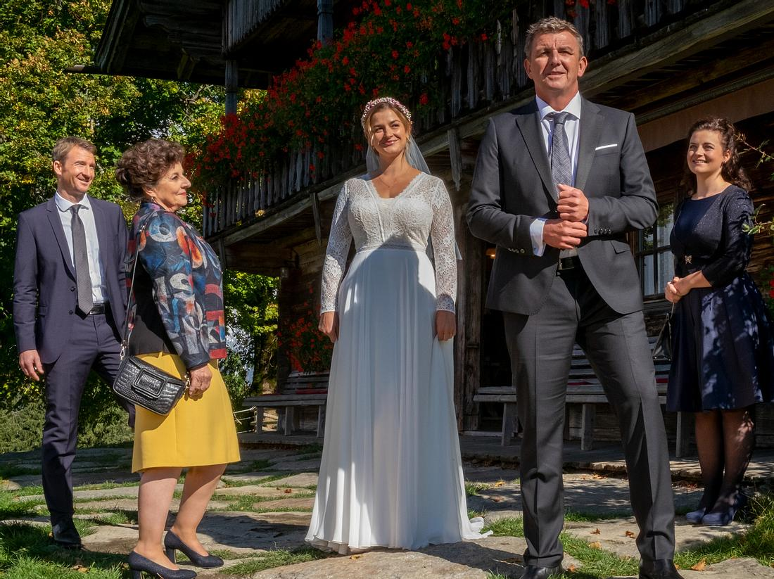 'Der Bergdoktor'-Hochzeit