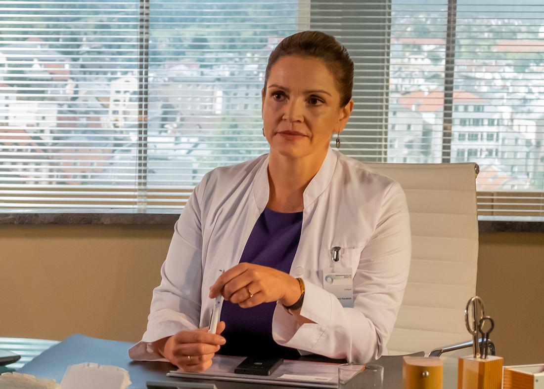 'Bergdoktor'-Star Rebecca Immanuel.
