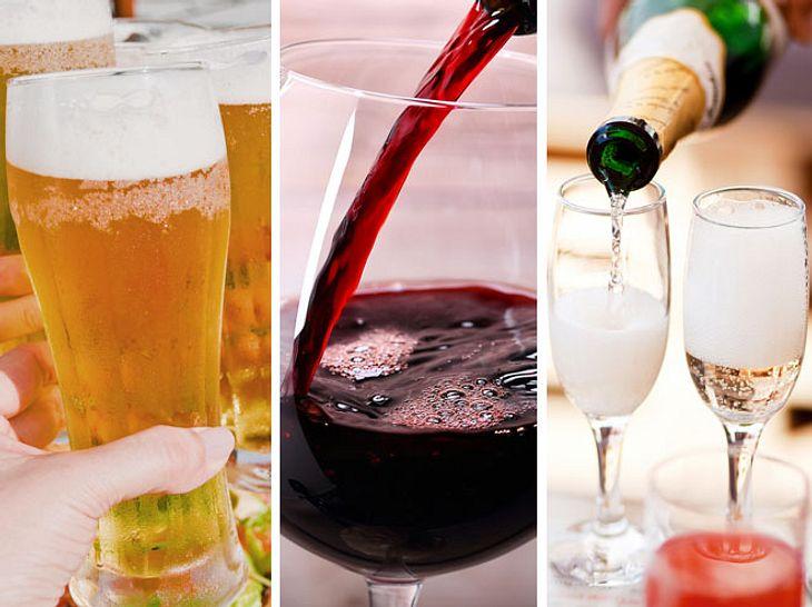 Auch Bier, Wein und Sekt sind nicht immer vegetarisch.