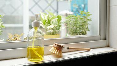 Bio-Spülmittel auf Fensterbank - Foto: iStock/DragonImages