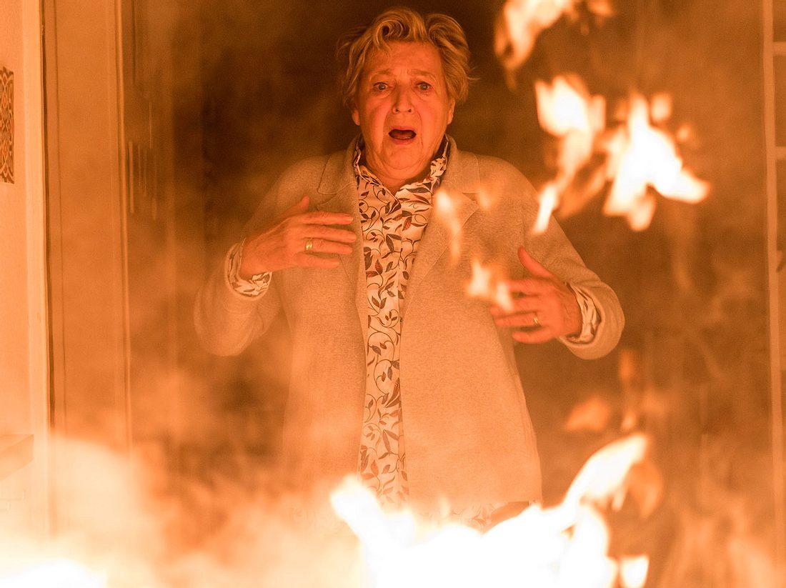 Brandanschlag auf Mutter Beimer