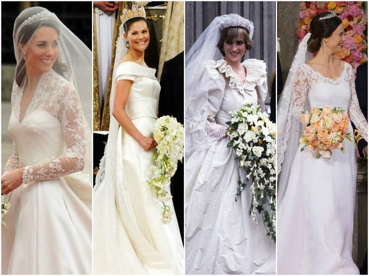 Victoria, Kate Middleton & Co: Die Brautkleider der Royal-Hochzeiten