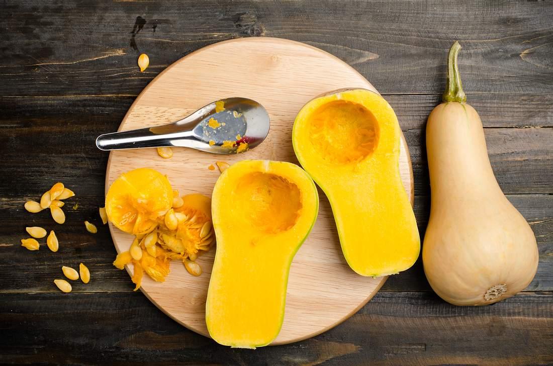 Butternusskürbis schälen: So gelingt es