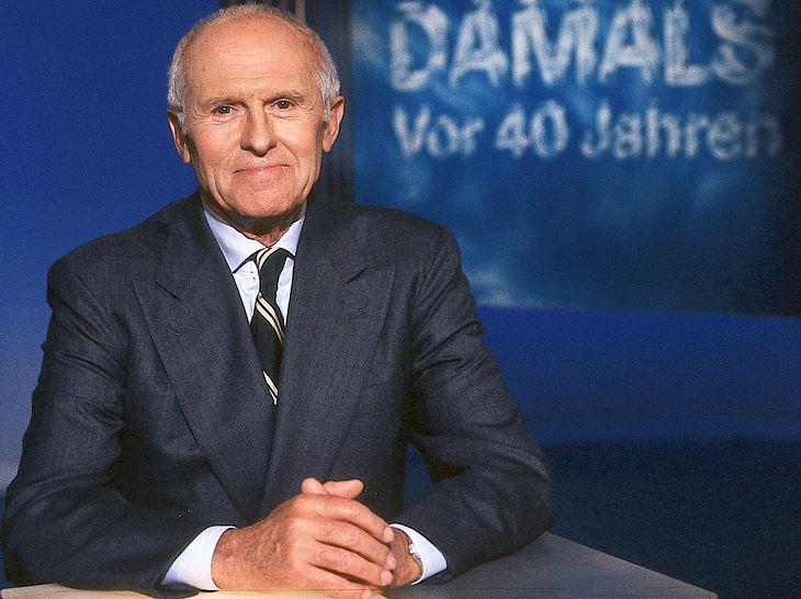 Carl Weiss: Erster Heute-Moderator verstorben
