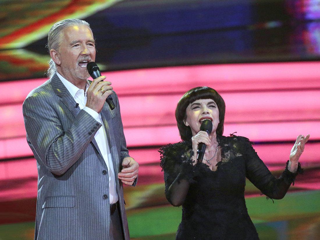 In der ZDF-Show von Carmen Nebel geben sich diesmal unter anderem Patrick Duffy und Mireille Mathieu die Ehre.